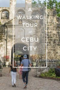 Cebu City boasts an ancient history, seeing that Cebu was amongst the first of the Philippine islands to be colonised by the Spanish way back in 1565.If you believe that the best way to experience a city is by walking about and getting lost in it, then you will love our walking tour of Cebu City! #philippines #itsmorefuninthephilippines #tour #walkingtour #travel #travelstoke