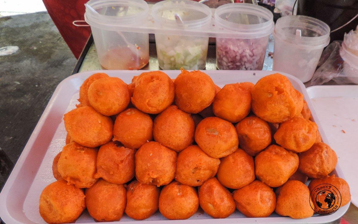 Kwek-kwek - 'must try' street food Philippines
