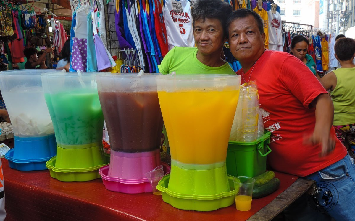 Palamig Selection - 'must try' street foods Philippines
