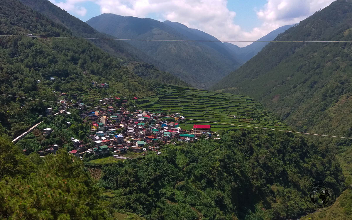 View on the way to Sagada