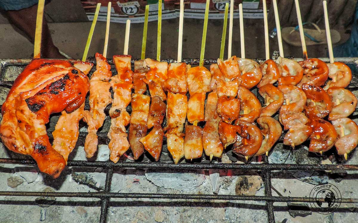 Grilled Meats - 'must try' street foods in the Philippines