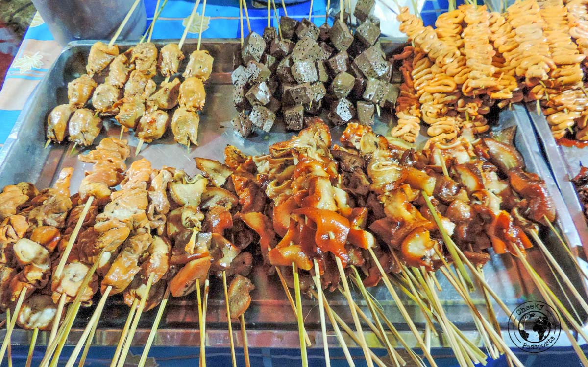 even more Grilled Meats - 'must try' street foods in the Philippines