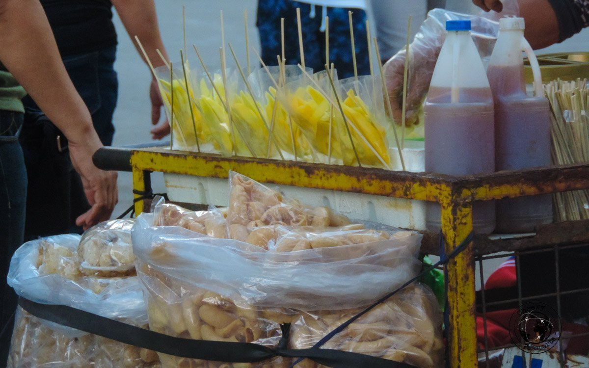 Mango and Chilli - 'must try' street foods in the Philippines