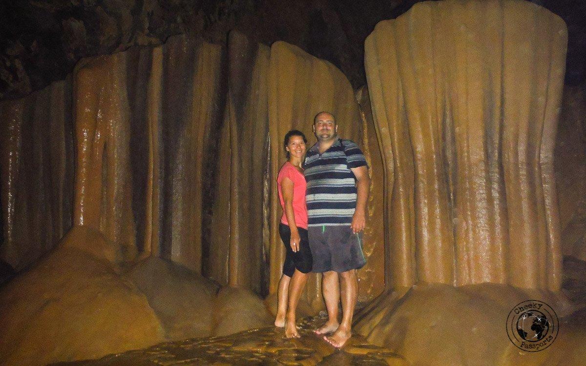 The Cheekypassports team at the Sumaguing Cave - Sagada tourist spots