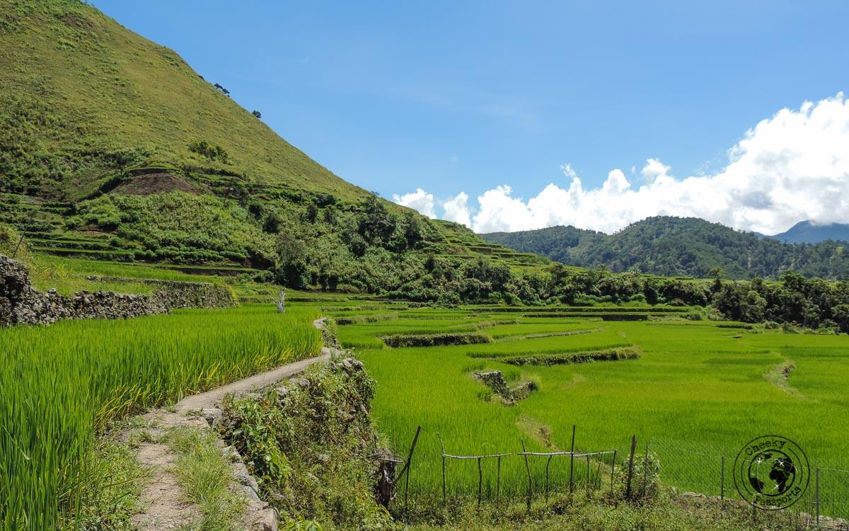 The beautiful scenery at Buscalan