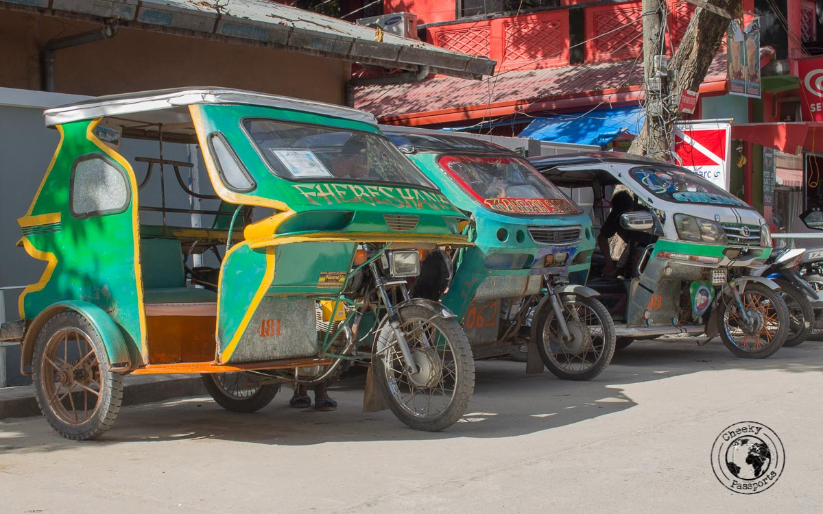 Trikes - Philippines travel expenses and costs