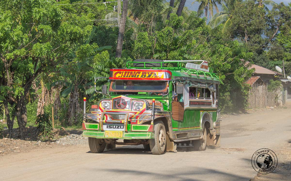 Jeepney - Philippines travel expenses and costs - traveling in southeast asia