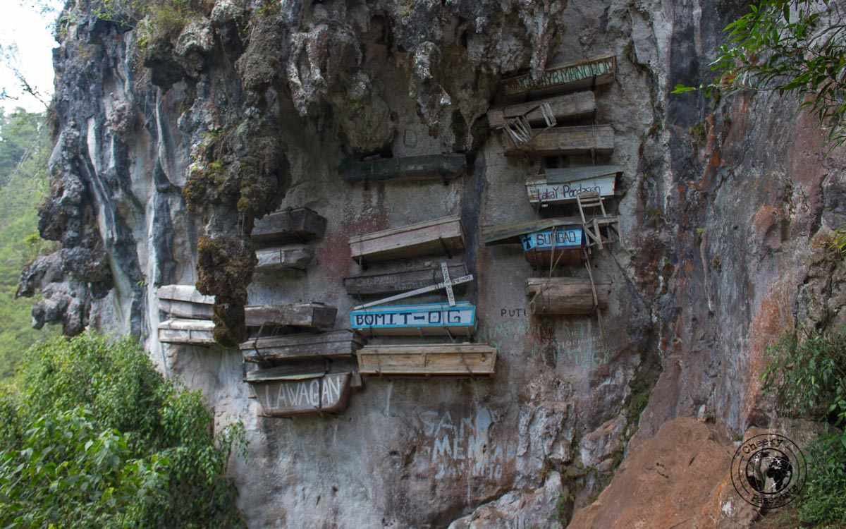 The hanging coffins of Sagada - Sagada tourist spots