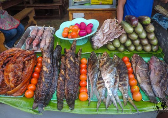 A street stall - 'must try' street foods in the Philippines
