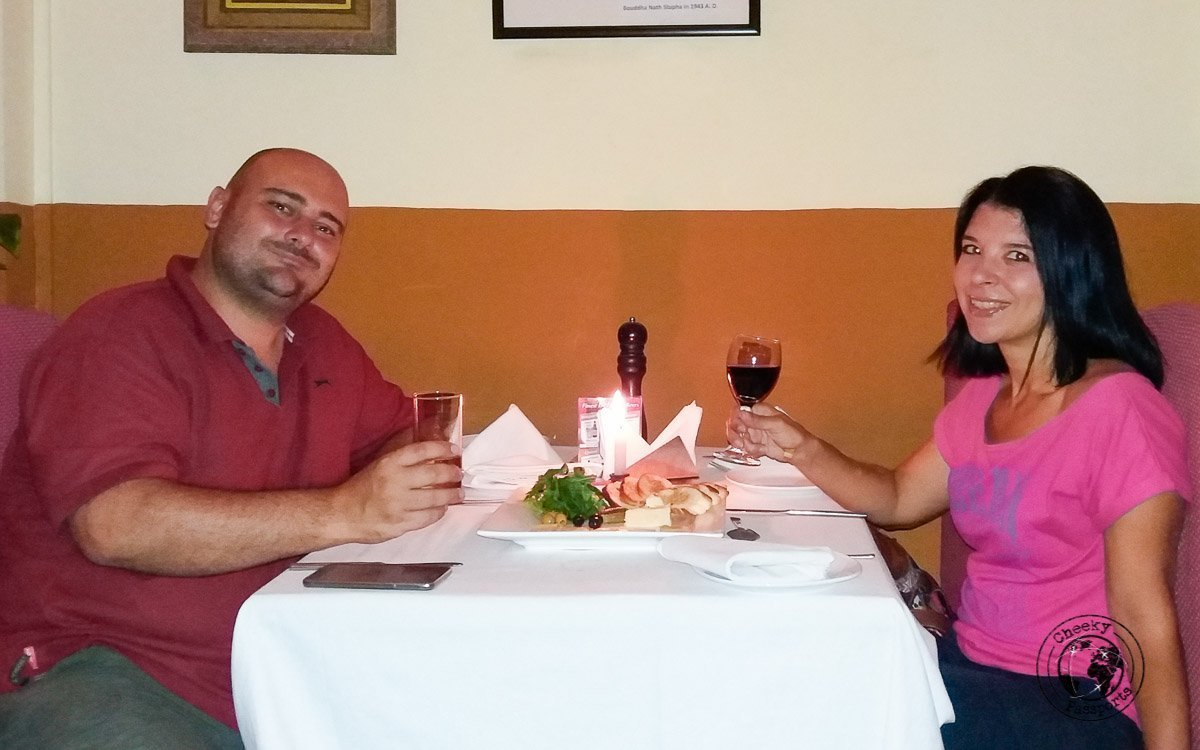 A good place to celebrate our 6 years anniversary