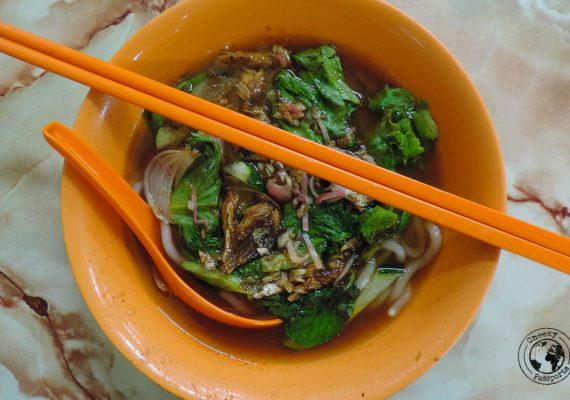 Assam Laksa - Steet food in Malaysia