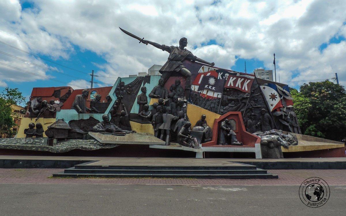 Andres Bonifacio Mural, Manila