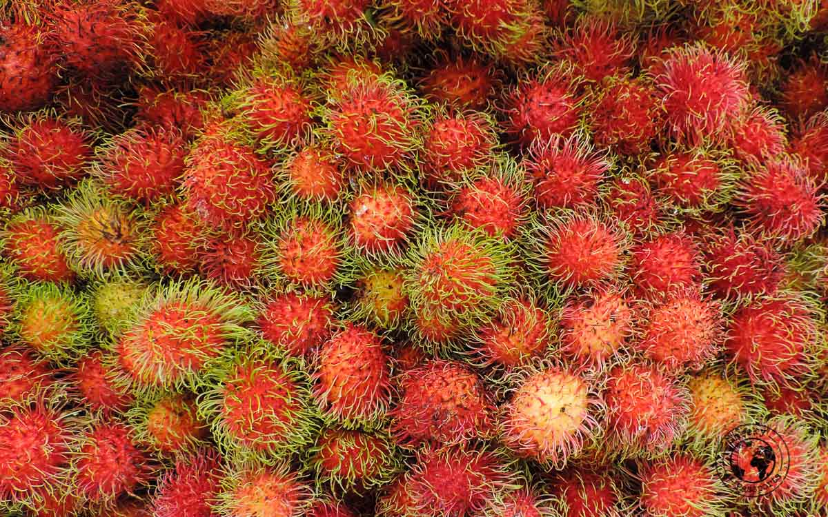 Fruit - street foods in Malaysia