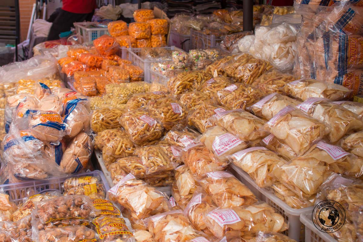 street food in chinatown - A stop on the Day tour of Manila City