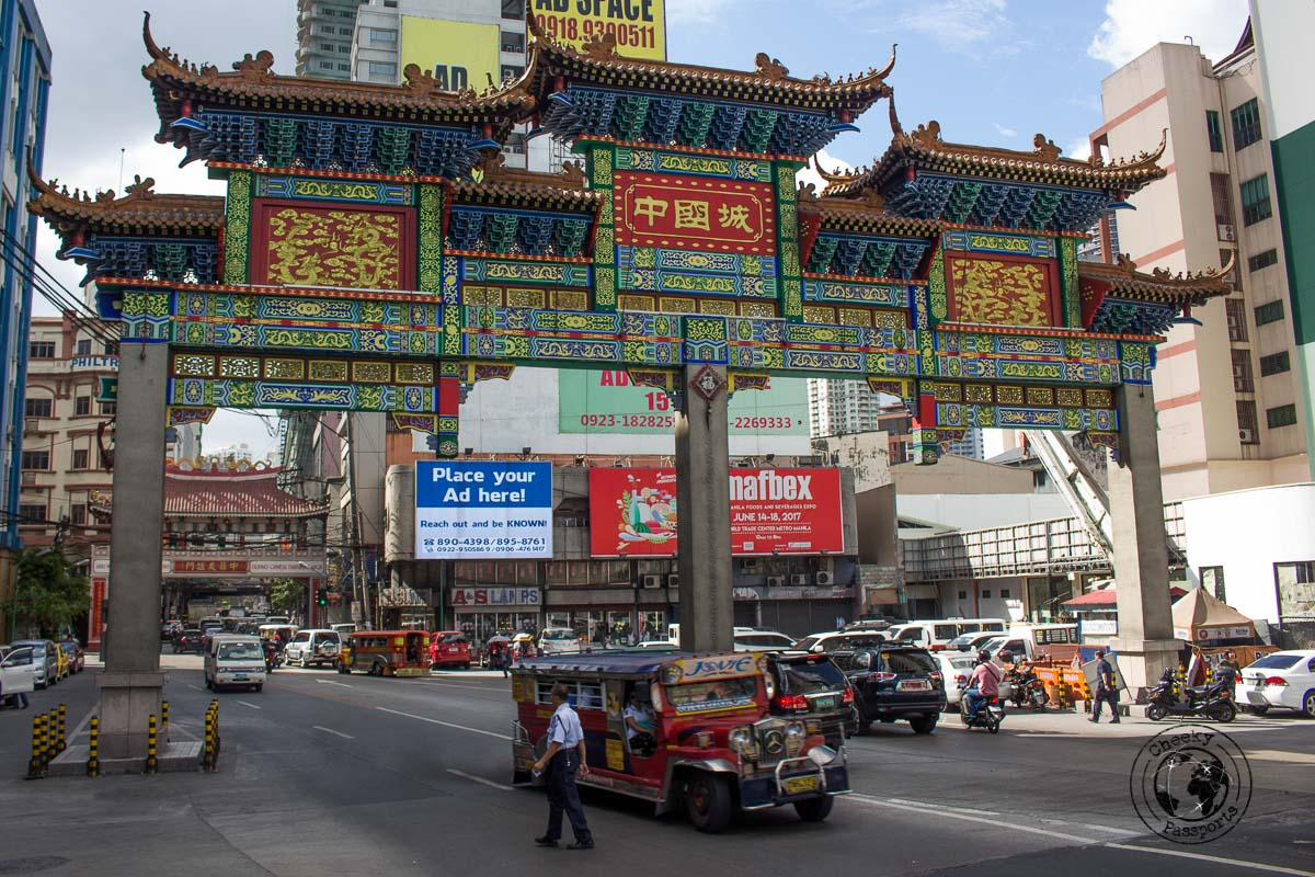 Chinatown - A stop on the Day tour of Manila City