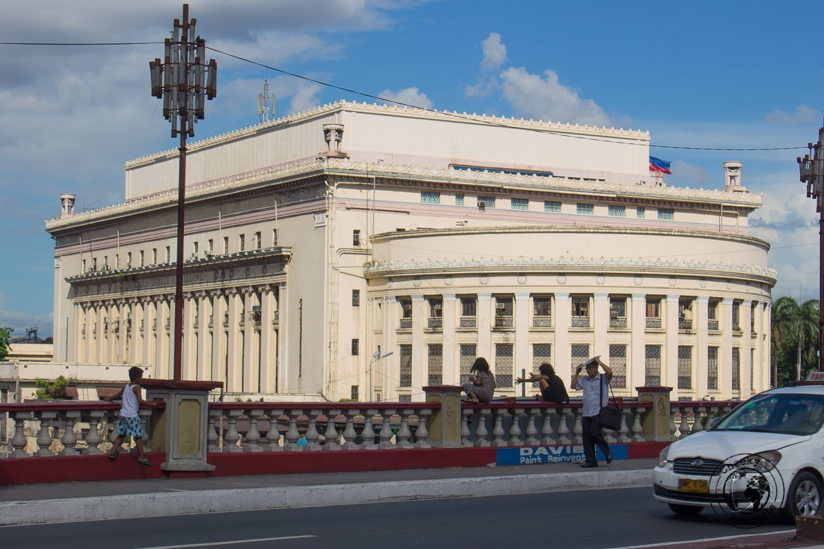 The post office of Manila - A stop on the Day tour in Manila City