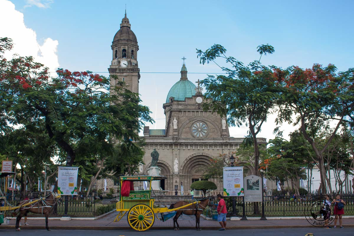 Manila Cathedral - A stop on the Day tour in Manila City