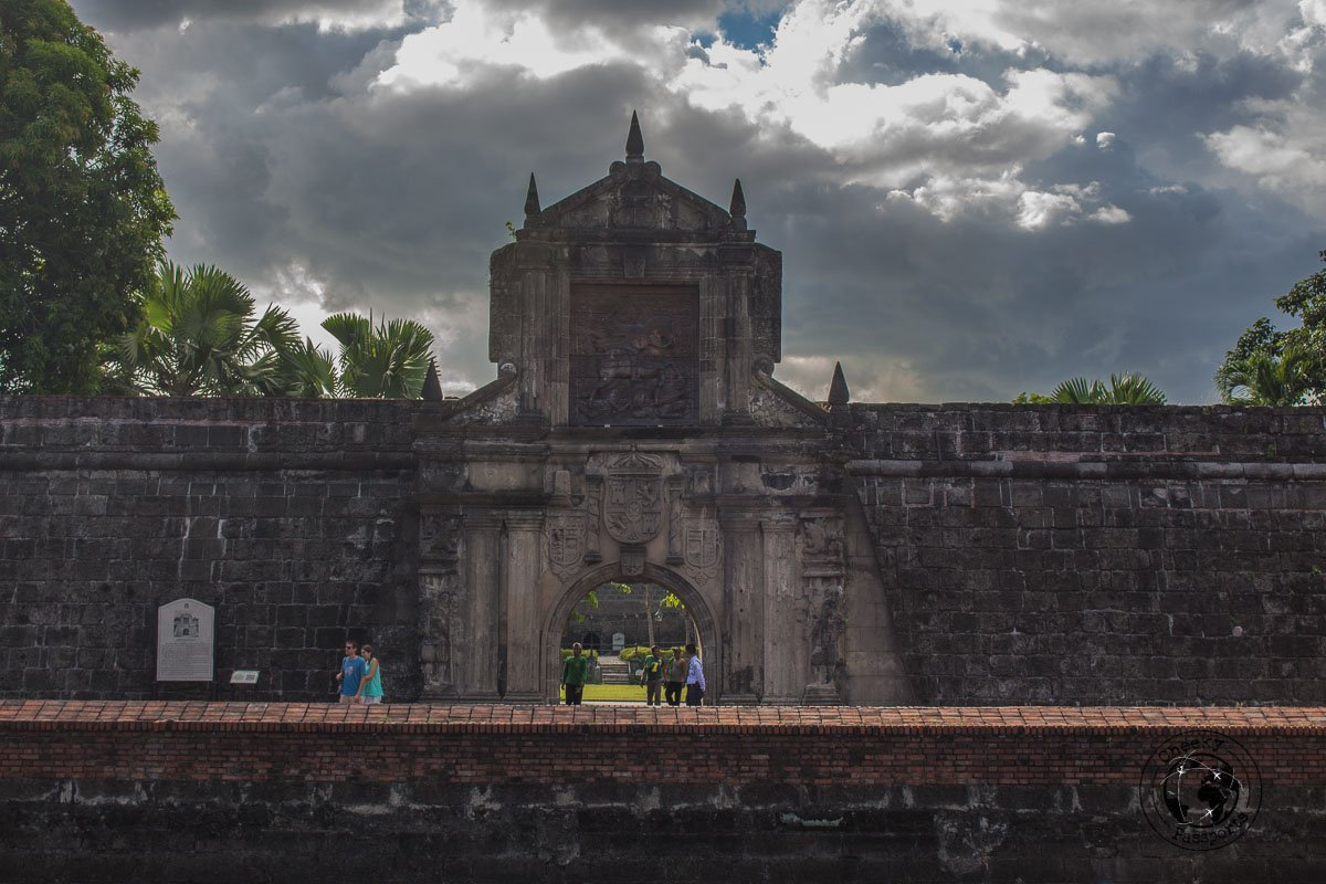 Fort Santiago - A stop on the Day tour of Manila City