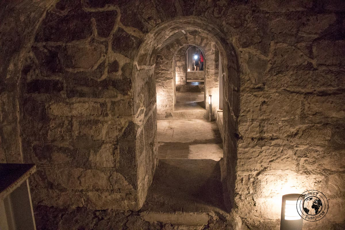 Fort Santiago's underground cells - A stop on the Day tour of Manila City