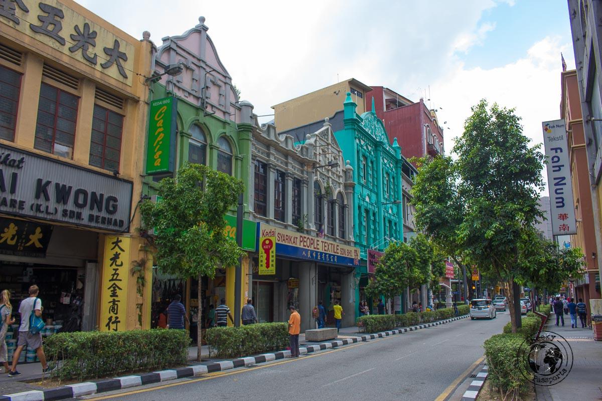 Jalan Petaling area - Top tourist spots in Kuala Lumpur