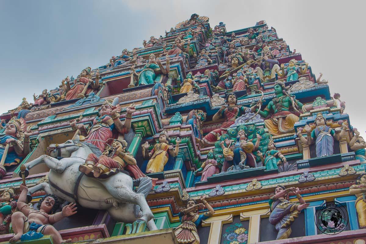 Sri Mahamariamman - Top tourist spots in Kuala Lumpur