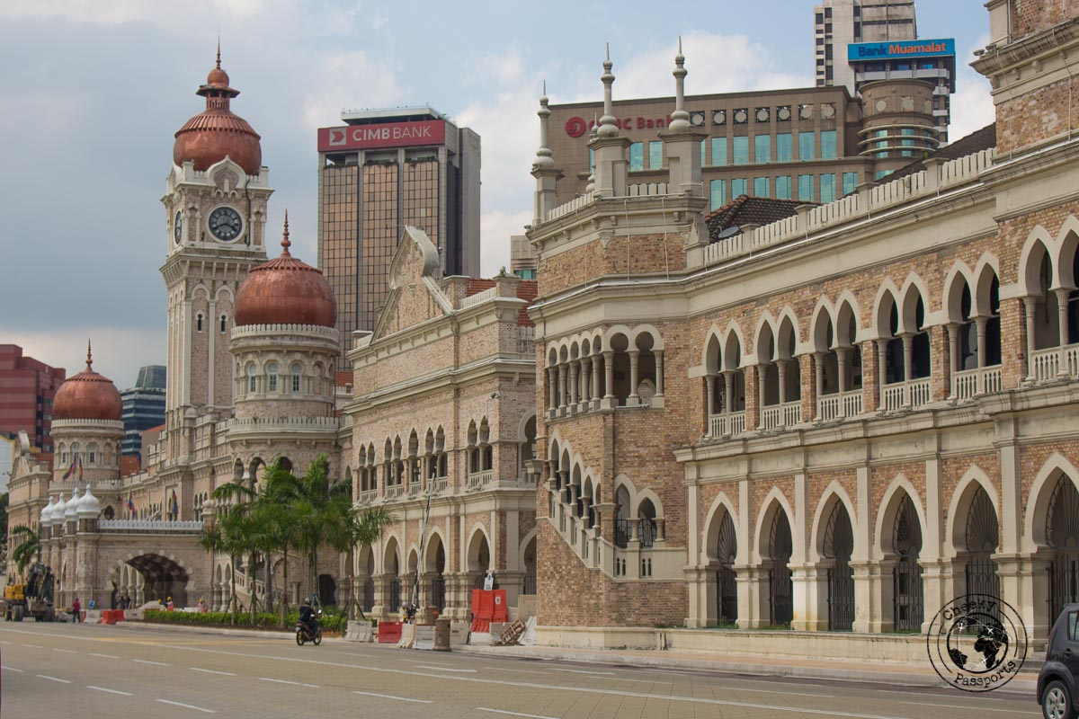 Merdeka Square - Top tourist spots in Kuala Lumpur