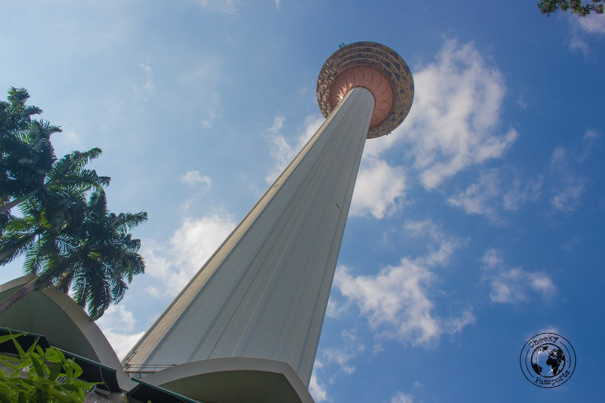 KL tower - Top tourist spots in Kuala Lumpur