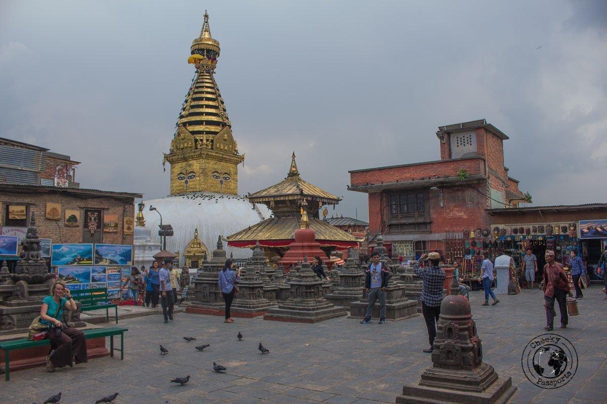 Swaymbhunath (The Monkey Temple) - best places to visit in Kathmandu