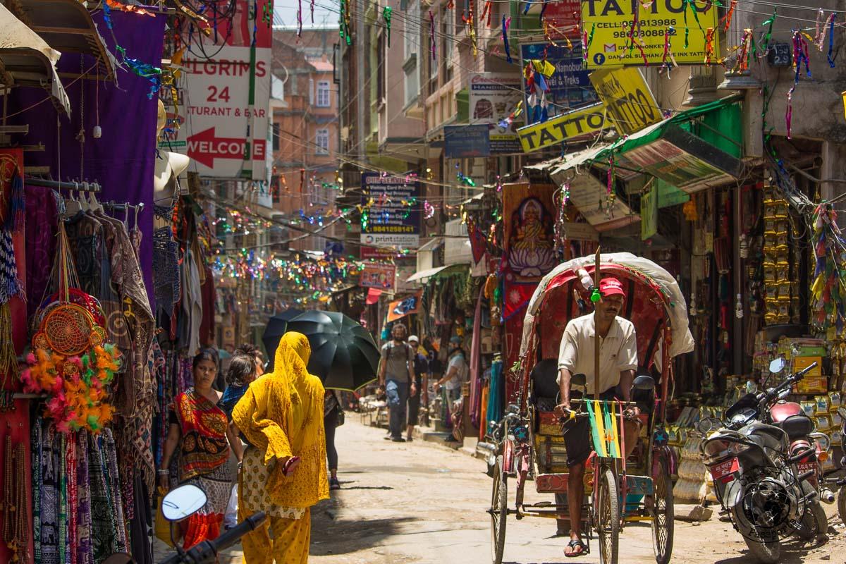Crazy Thamel in the heart of Kathmandu