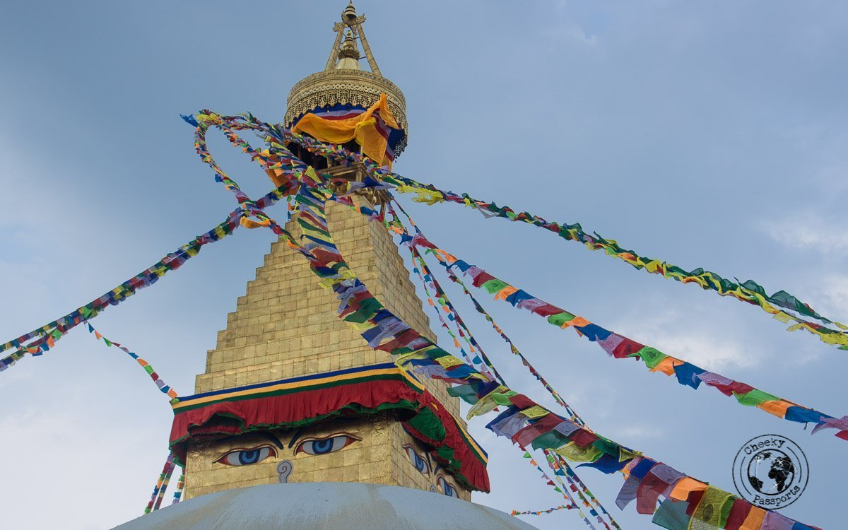 Boudhanath Stupa, one of the best places to visit in Kathmandu