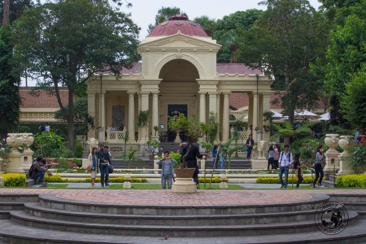 Garden of dreams in Kathmandu - best places to visit in Kathmandu