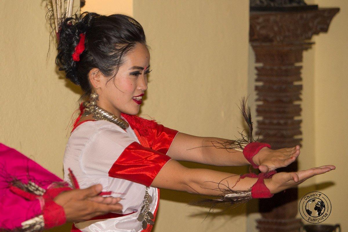 Traditional Nepal dancing - things to do in Kathmandu
