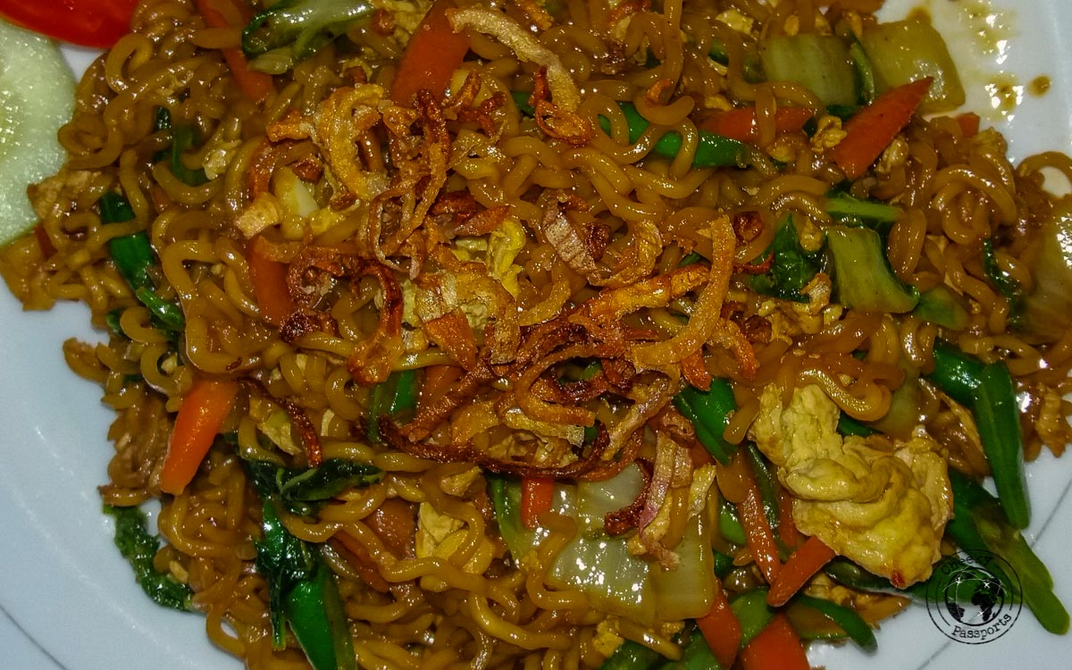 Mie Goreng - street foods in Malaysia