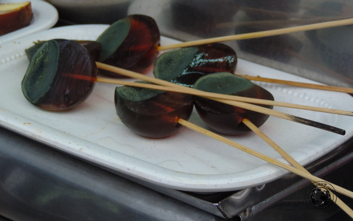 Century Egg - street foods in Malaysia
