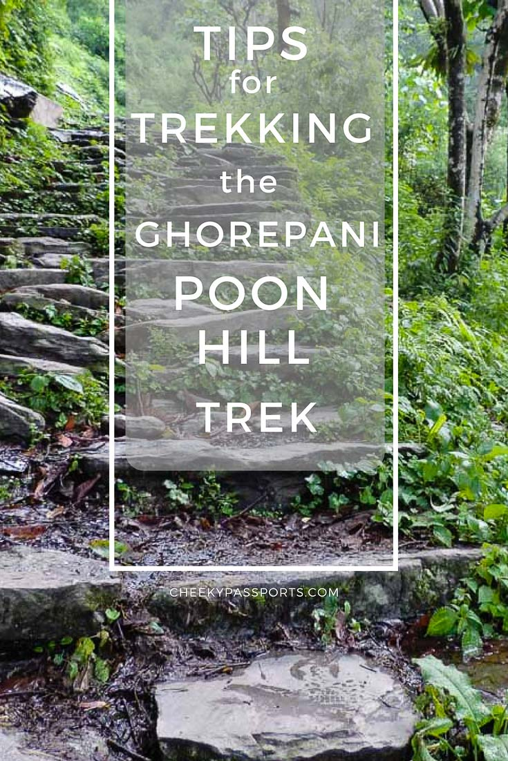 tips for trekking the ghorepani poon hill trek - A CheekyPassports Special