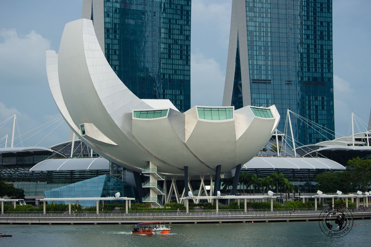 Art and Science Museum - attractions around marina bay
