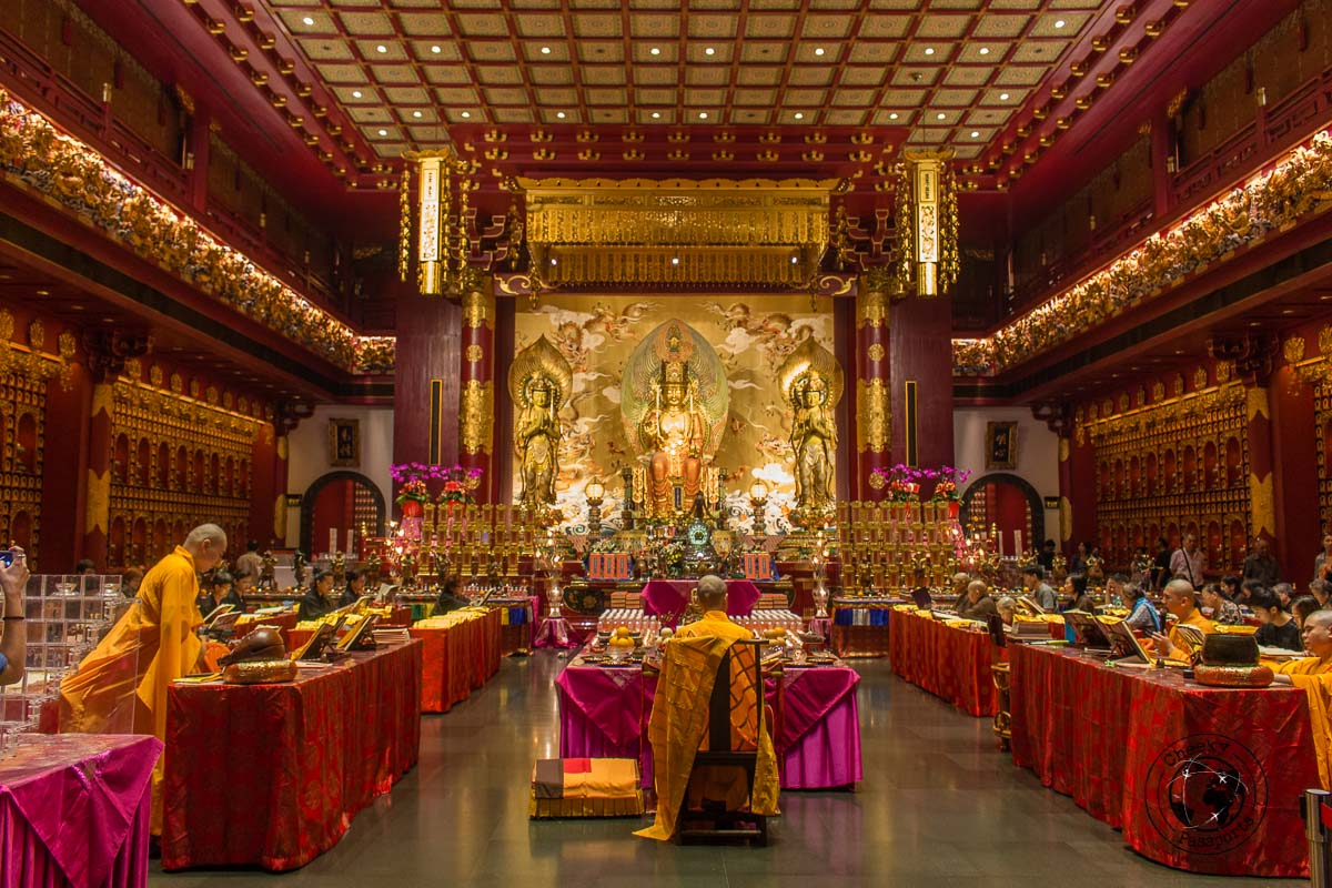 Buddha Tooth Relic Temple - 3 days in Singapore