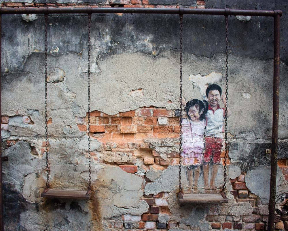Discovering the Street Art in Penang