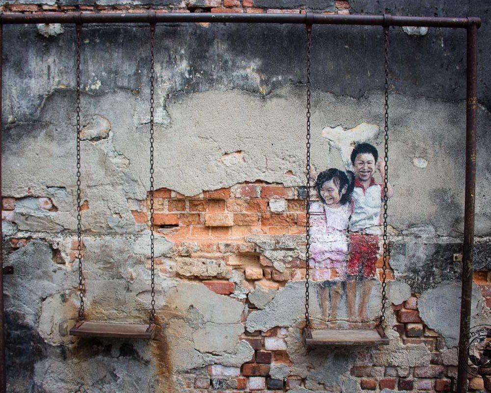 Street Art in Penang – Exploring Malaysia
