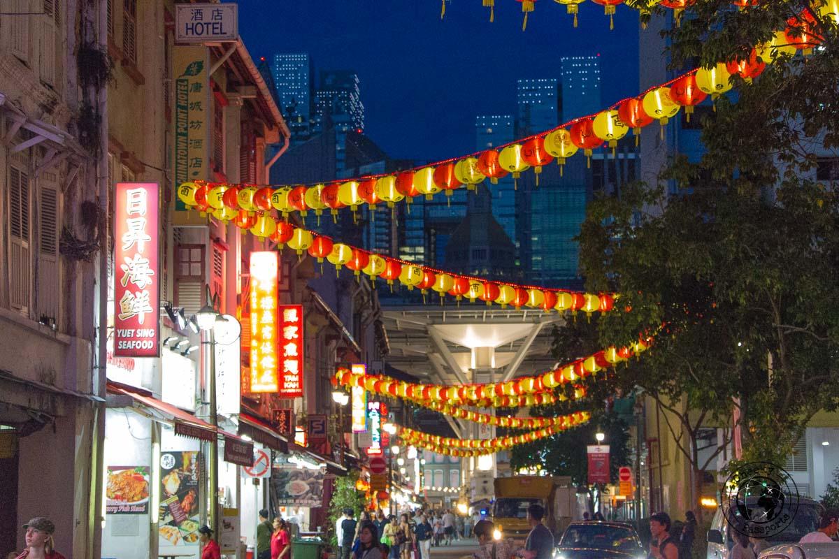 Chinatown - 3 days in Singapore