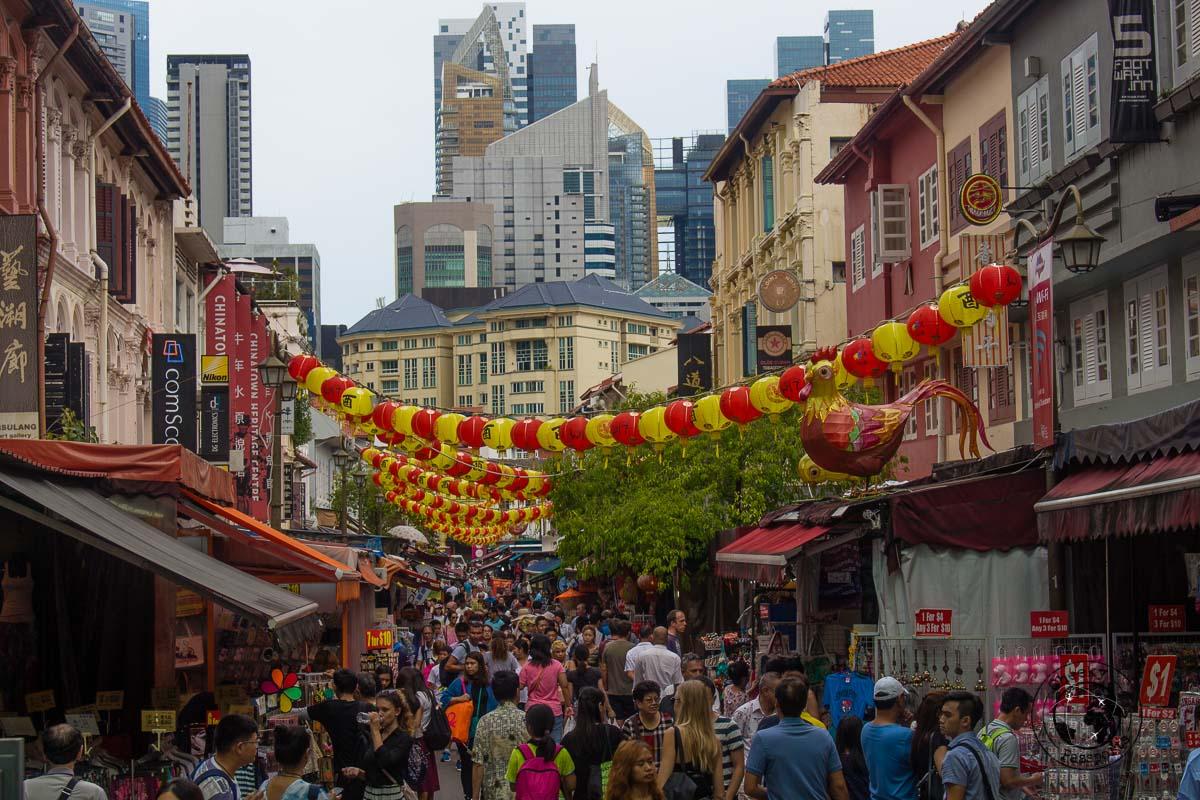 Chinatown market - 3 days in Singapore