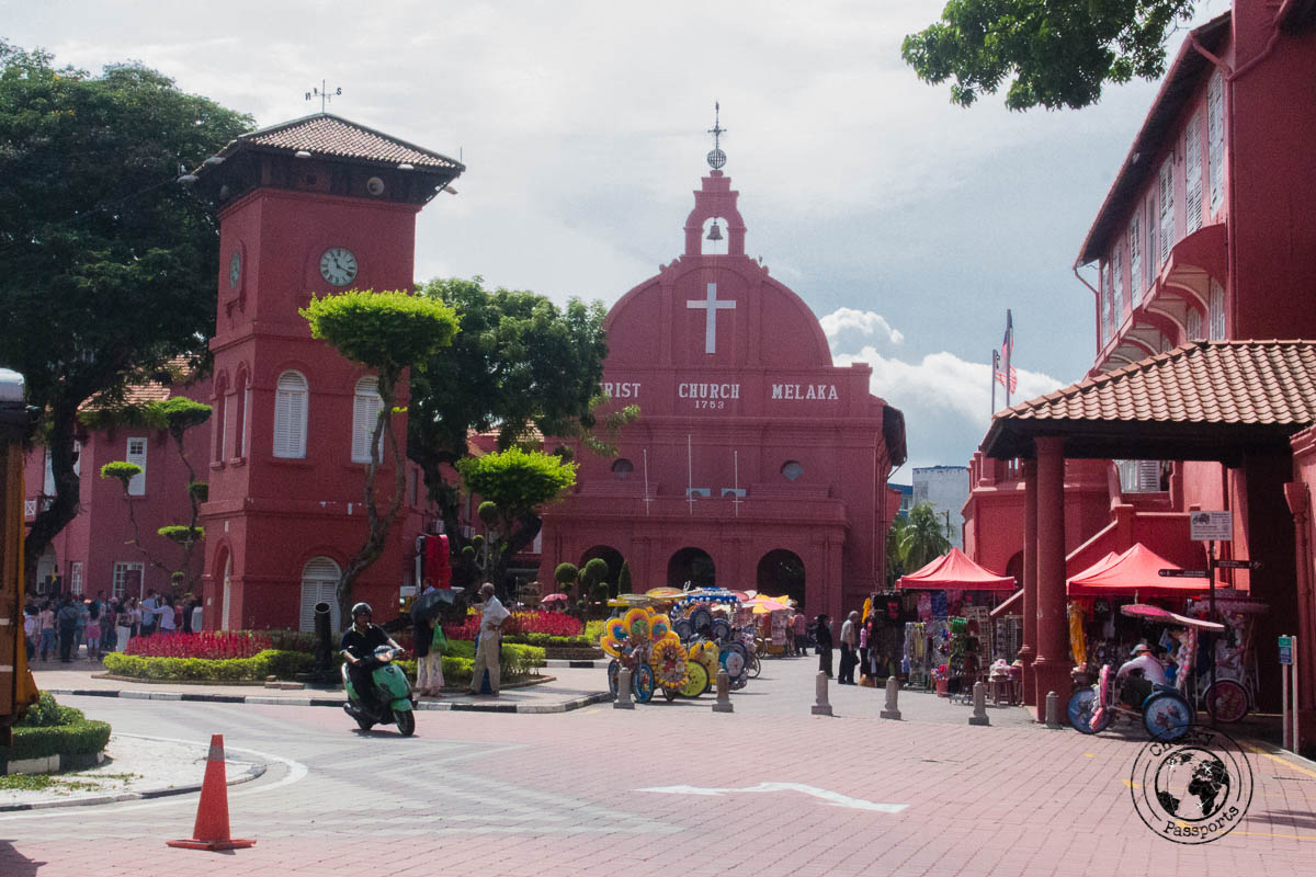 Christ Church - Things to do in Melaka
