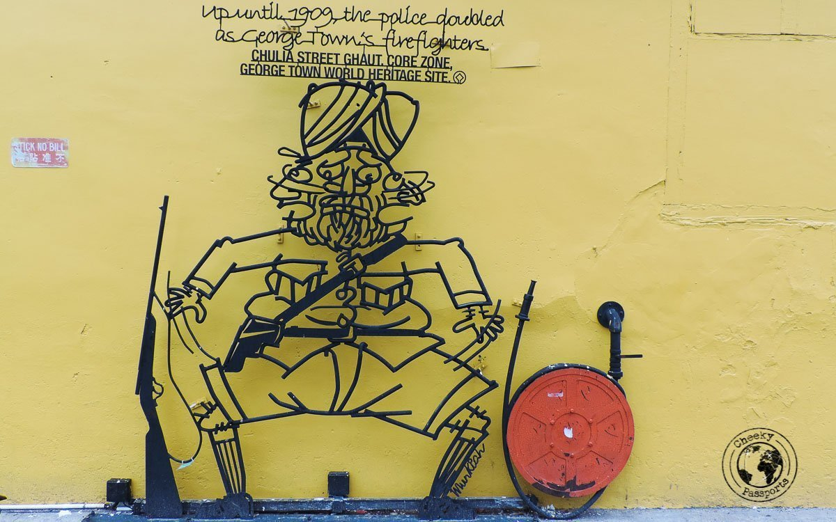 Chulia Street - Street Art in Penang