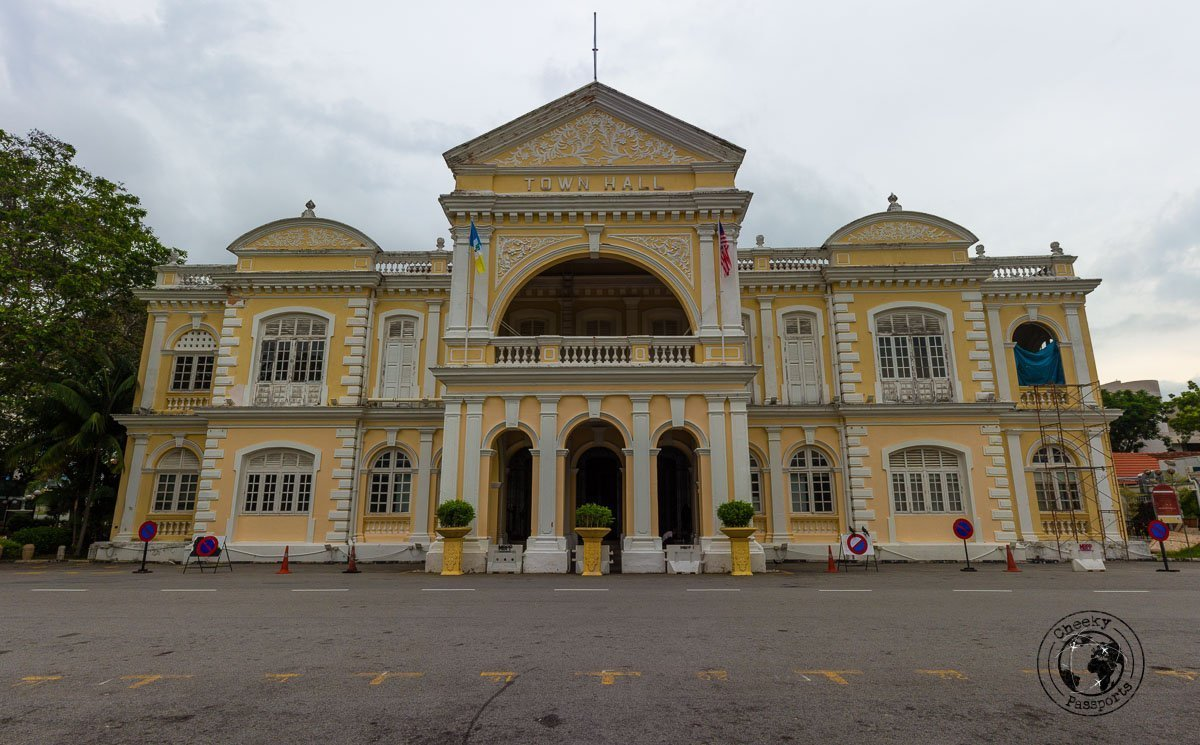 City Hall of Georgetown - things to do in Penang