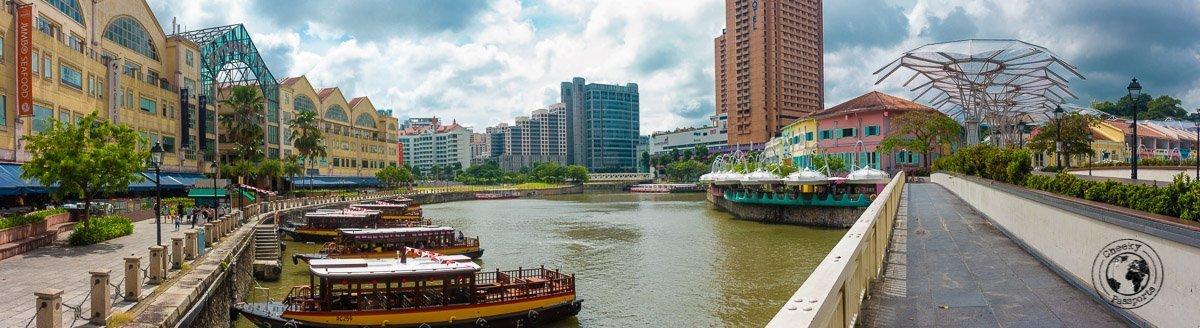 Clarke Quay - 3 days in Singapore