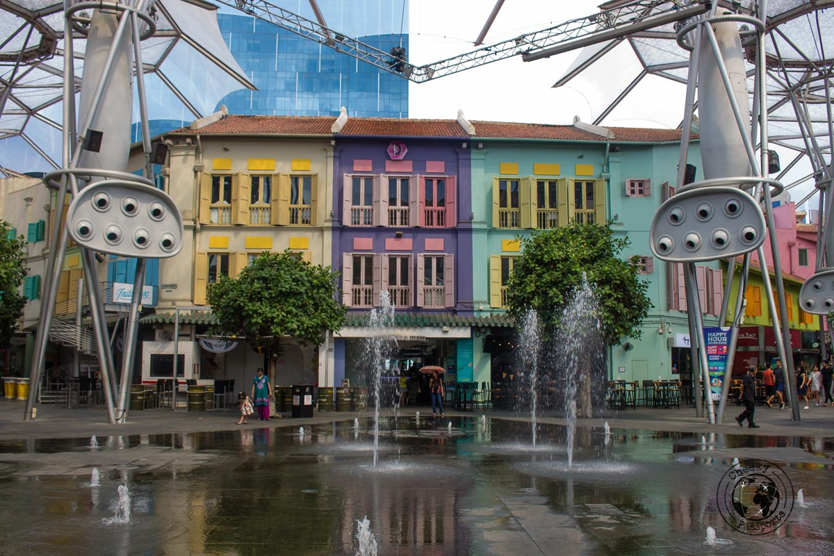 Clarke Quay Central - 3 days in Singapore