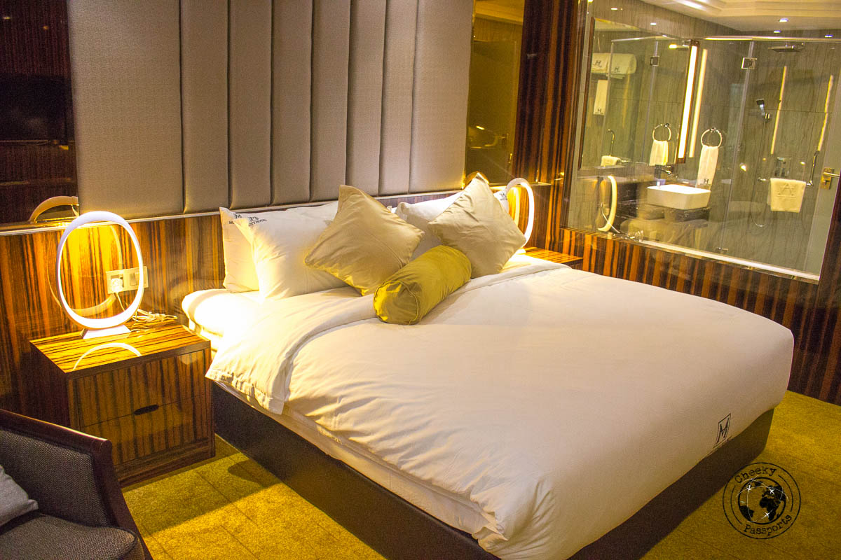 Comfortable bed at Moty Hotel - Things to do in Melaka