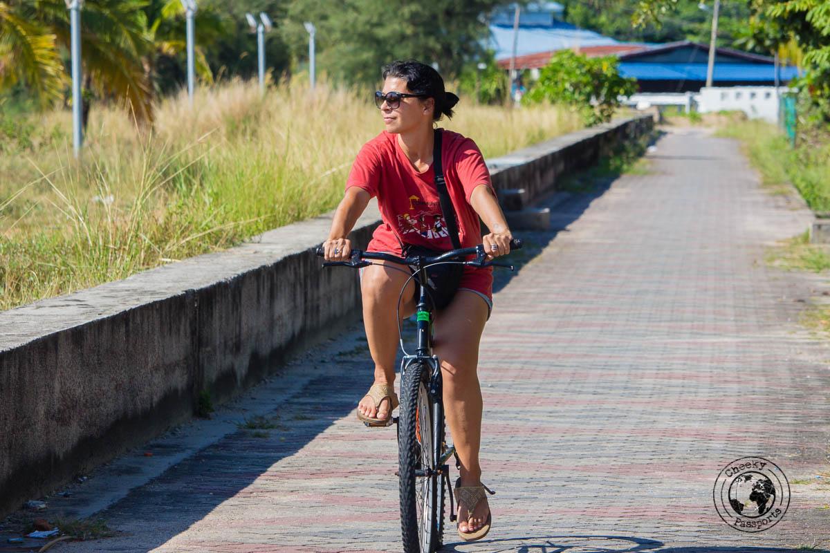 Cycling on Tioman Island - Beaches, Monkeys and Jungle treks on Tioman Island - Pulau Tioman