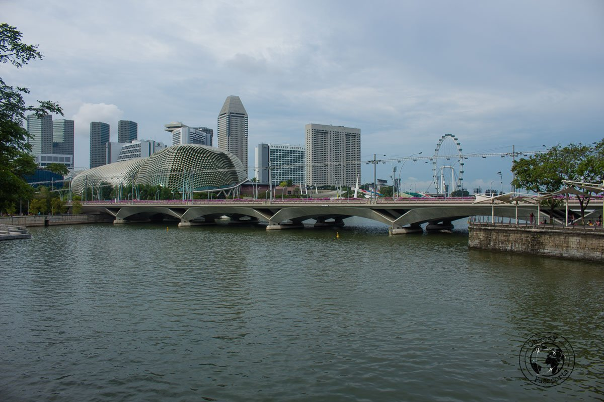 Esplanade - - attractions around marina bay