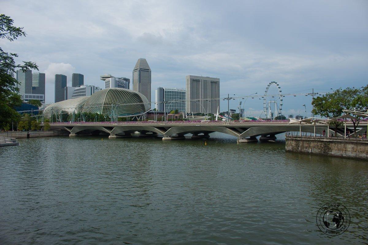 Esplanade - - attractions around marina bay